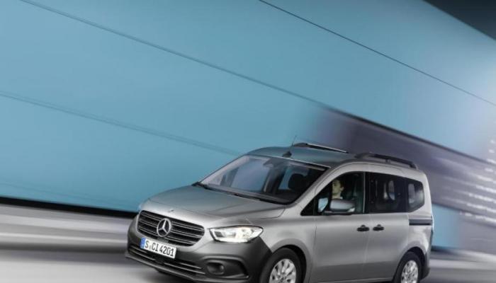 مرسيدس تستعد لإطلاق سيارتها الجديدة Citan بأسعار وهمية